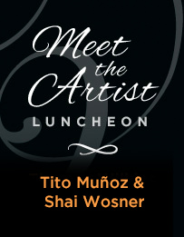 Meet the Artist Luncheon: Tito Muñoz & Shai Wosner