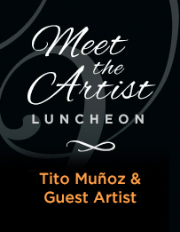 Meet the Artist Luncheon: Tito Muñoz and Celena Schafer
