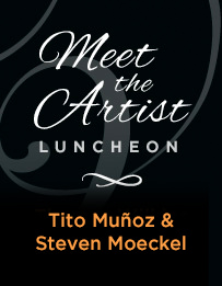Meet the Artist Luncheon: Tito Muñoz and Steven Moeckel